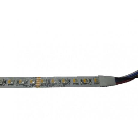 Ruban led RGBW 4 puces intégrées 24 volts
