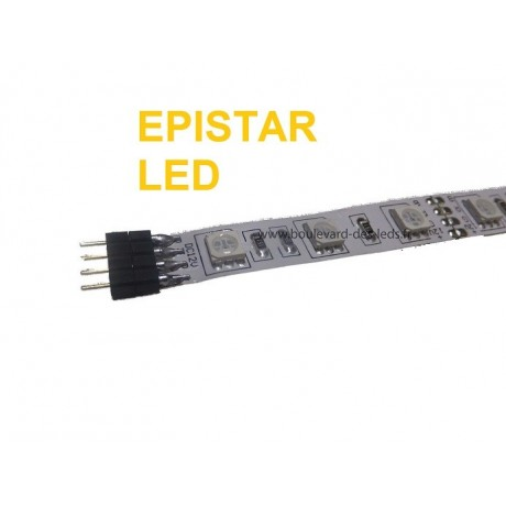 Ruban led RGB Epistar gamme intermédiaire 10mm