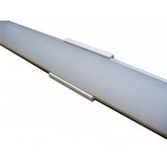 Raccord droit pour profilé aluminium