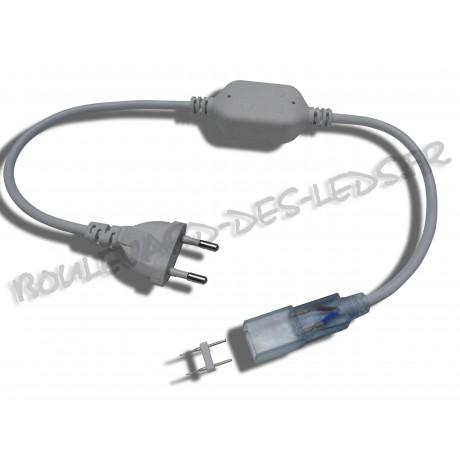 Câble électrique pour ruban led 220V SMD5050