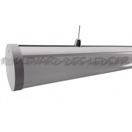 Profilé aluminium rond avec suspension pour led BDL5858