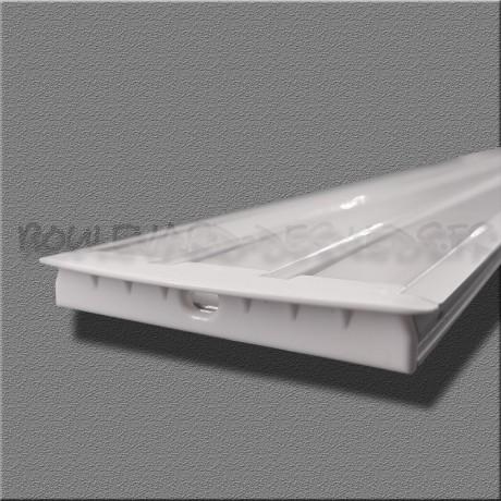 Profilé aluminium encastrable 3 bandes pour led BDL5609