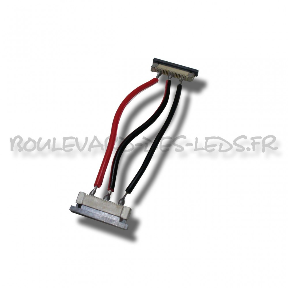 Connecteur souple pour ruban led bi temp rature - Connecteur ruban led ...