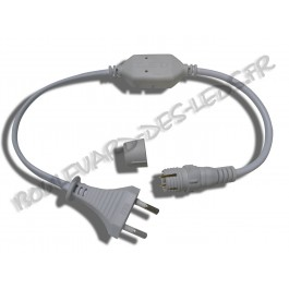 Câble redresseur pour cordon led 220V rond