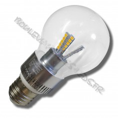 Ampoule led E27 7 watts bulbe type filament