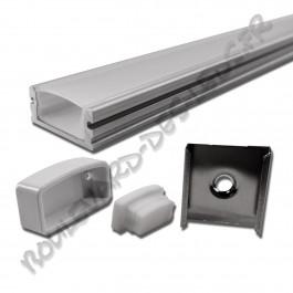 Profilé aluminium étanche BDL1808