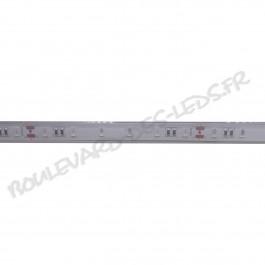Ruban led smd 5630 24V étanche IP68 rouge