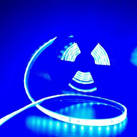 Ruban led smd 5630 24V étanche IP68 bleu