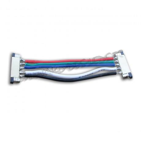 Connecteur souple pour ruban led RGBW
