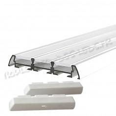 Profilé aluminium 3 bandes pour led