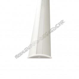 Profilé aluminium BDL5208 type passage de fil