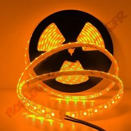 Ruban led 12V 2835 IP68 Orange