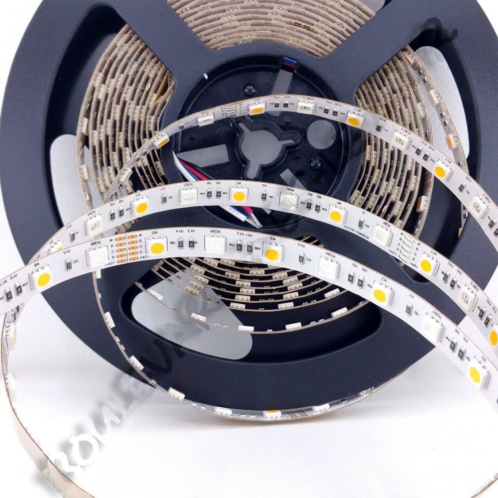 ruban led rgb blanc chaud 24v smd 5050 boulevard des leds. Black Bedroom Furniture Sets. Home Design Ideas