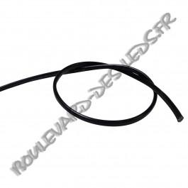 Fil noir méplat bi-polaire 2x0.75mm²