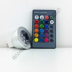 Ampoule led RGB MR16