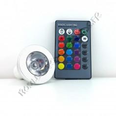 Ampoule led RGB GU10 3W
