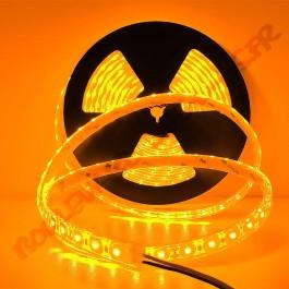 Ruban led smd 5630 24V étanche IP68 orange