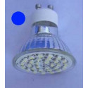Ampoule led bleue 60 led smd 3528 3 WATTS