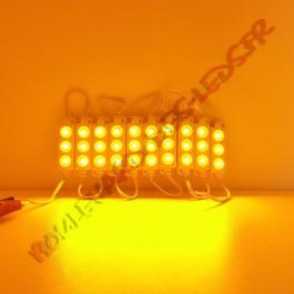 Module LED jaune étanche IP65