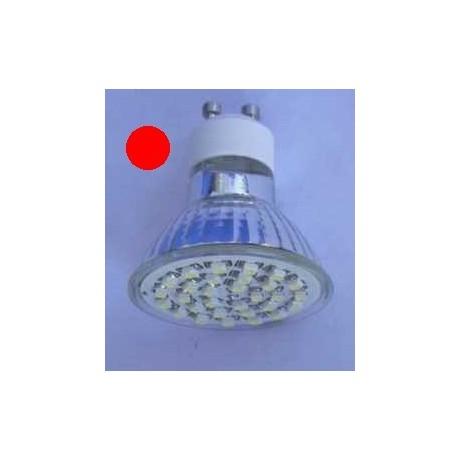 Ampoule led rouge 60 led 3528 3 watts
