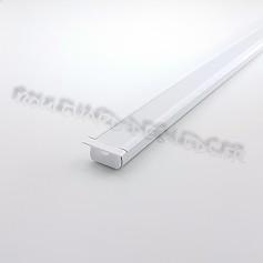 Profile aluminium blanc encastrable BDL2109