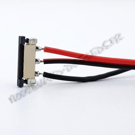 Connecteur ruban led bi-chromatique