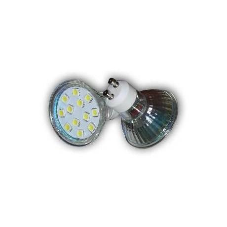 Ampoule led gu10 12 smd 5050