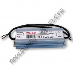 Alimentation led 60W 12V IP67 GLP