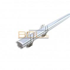 Profilé aluminium encastrable pour ruban LED