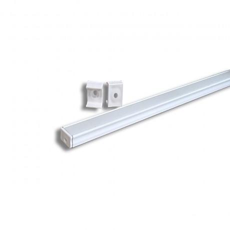 Profilé aluminium BDL1610 blanc laqué