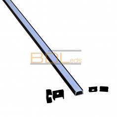 Profilé aluminium BDL1610 noir