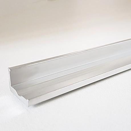 Profilé aluminium d'angle type cornière