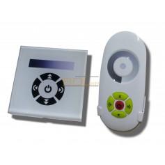 Variateur tactile encastrable avec télécommande