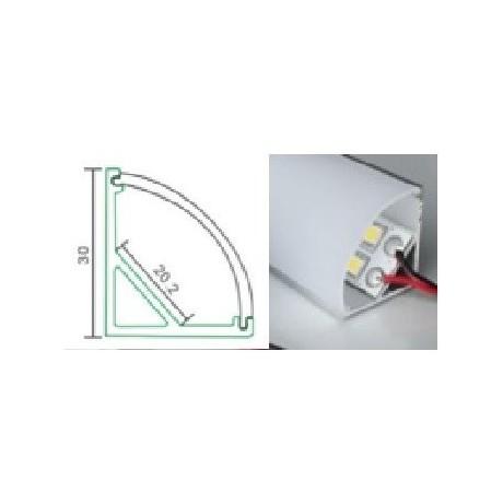 Profilé d'angle pour ruban led XL