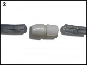 Raccord ruban led 220V