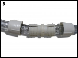 Branchement ruban led 220V