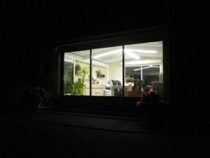 éclairage-led-véranda-extérieur