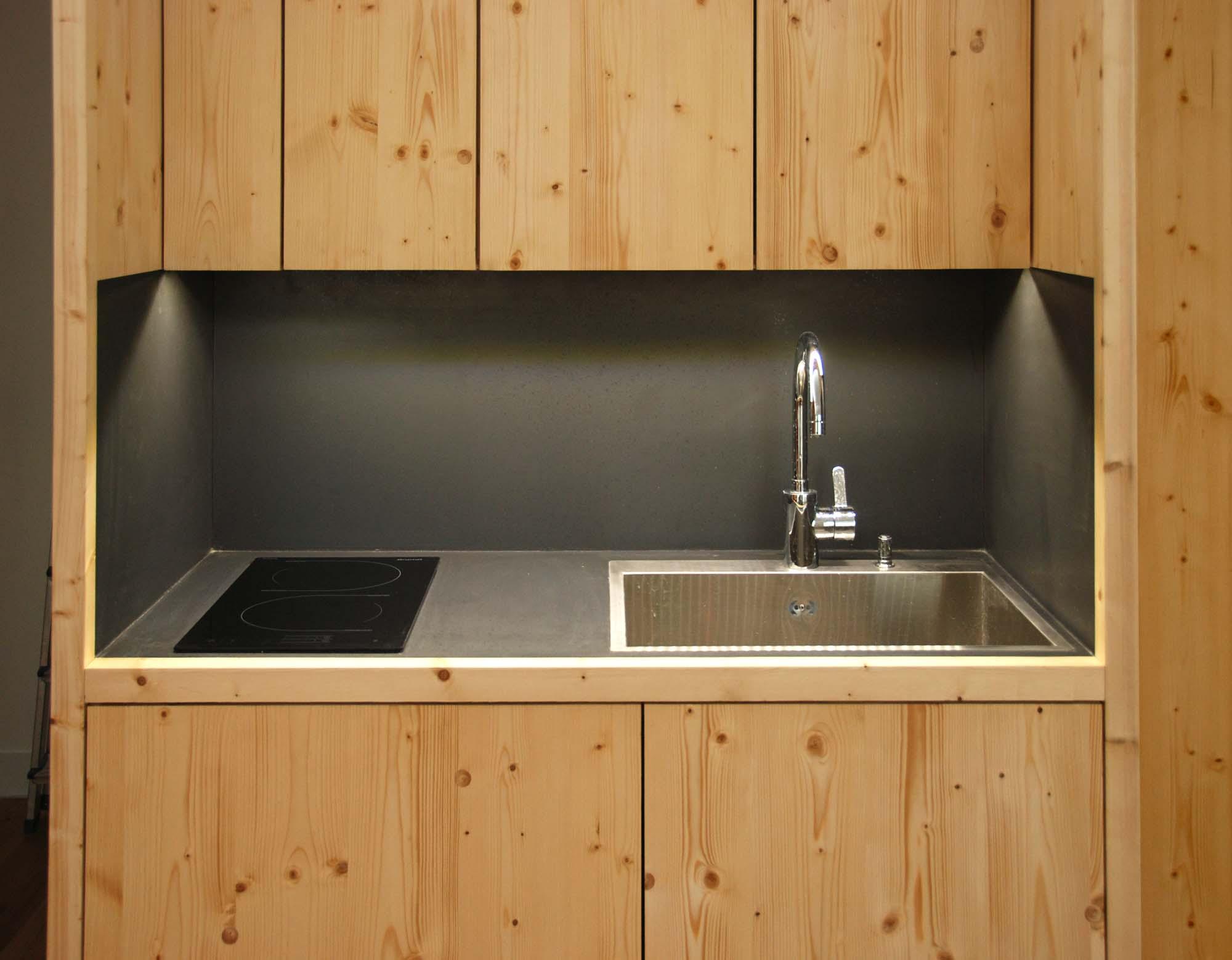 R alisation clairage led - Eclairage led plan de travail cuisine ...